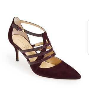 IVANKA TRUMP Tellas Strappy Pointed Toe Heels